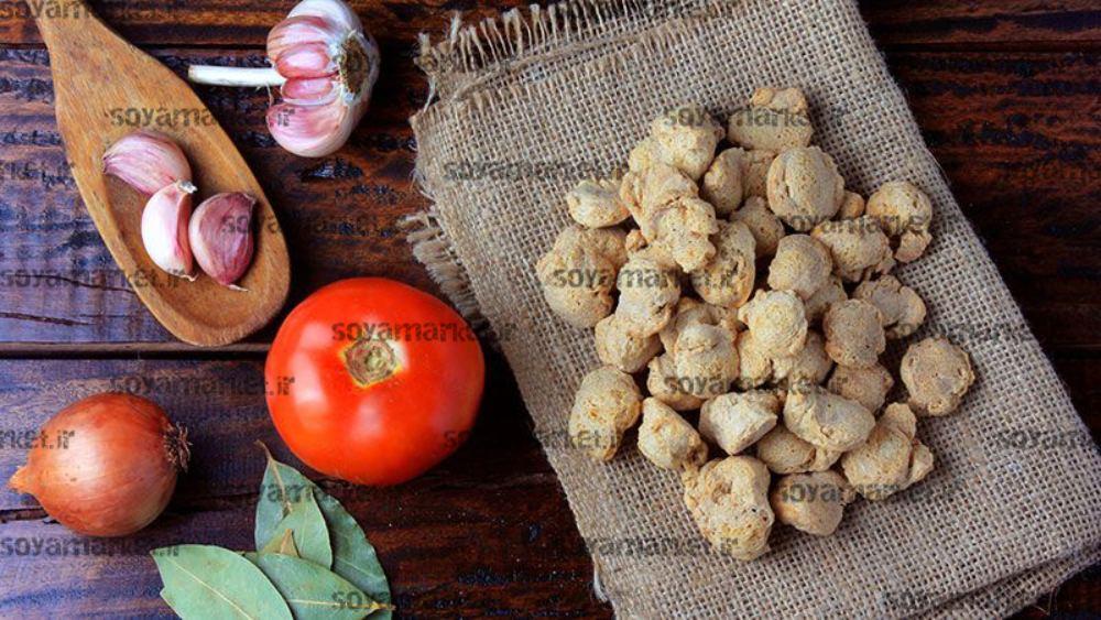 پروتئین گیاهی سویا خوراکی درشت دانه