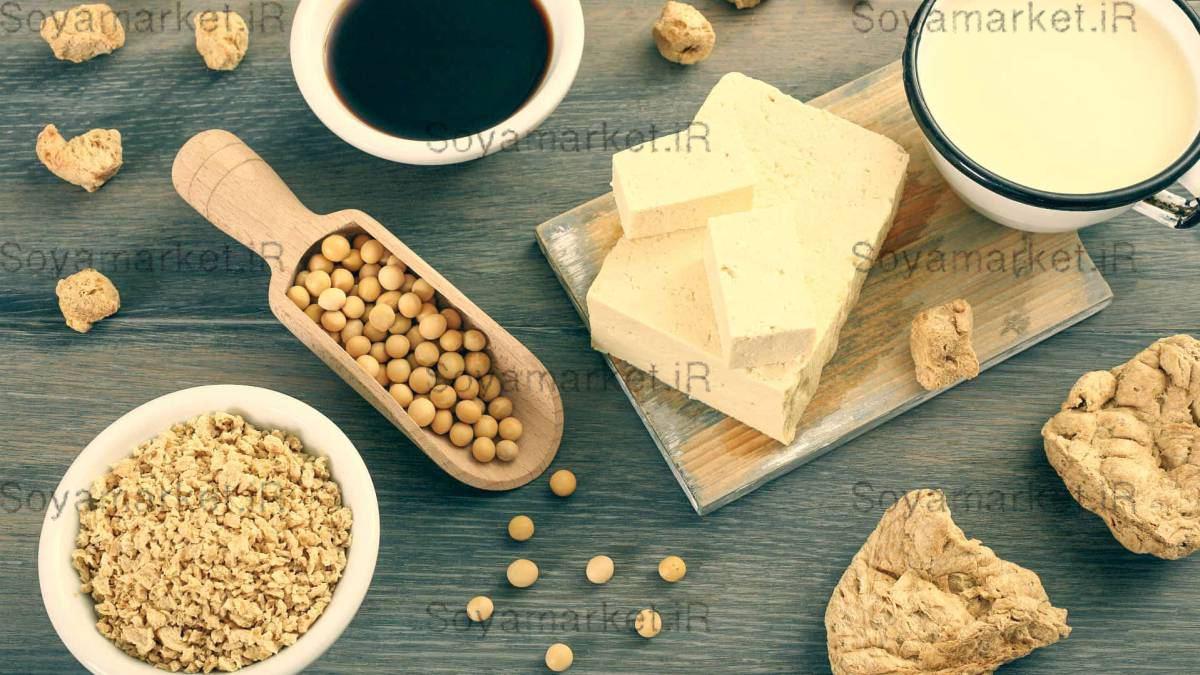انواع پروتئین سویا