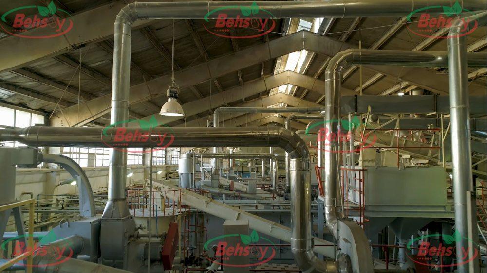 کارخانه تولید انواع سویا خوراکی