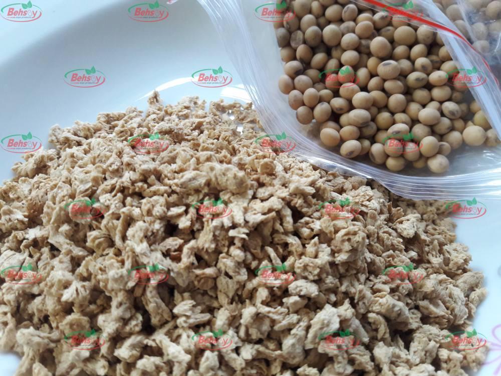 بهترین کارخانه سویا خوراکی در ایران